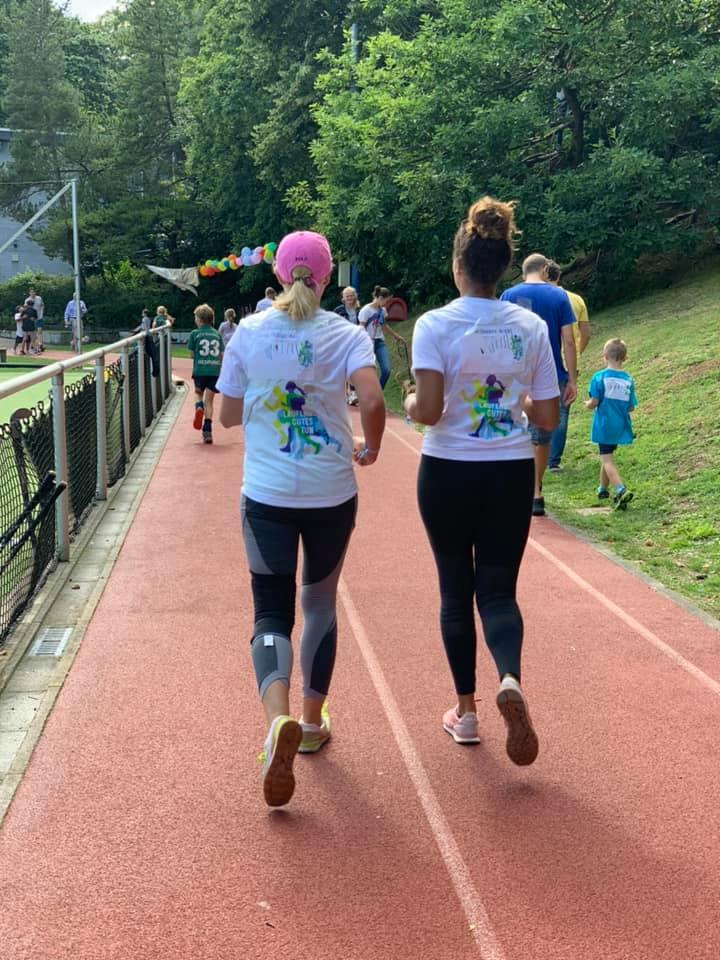 Spendenlauf Läufer